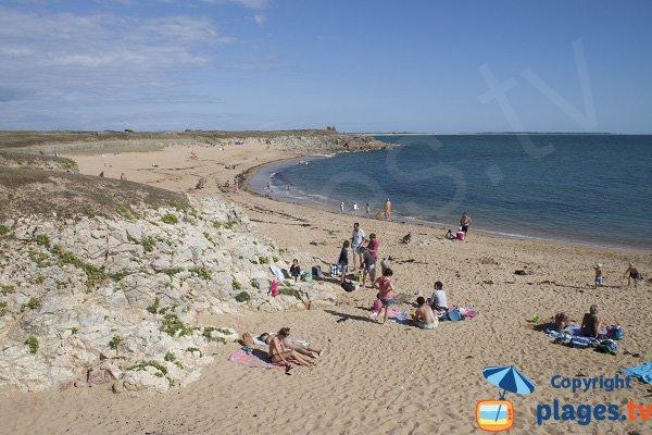 Photo of Porh Lineneu beach - Erdeven - France