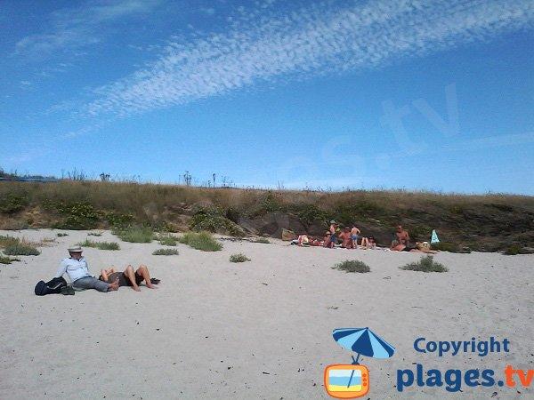 Crique de sable proche de Locmaria - Ile de Groix