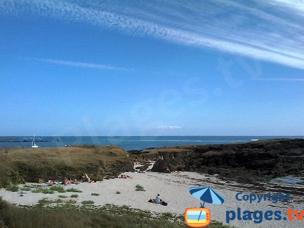 Photo de la plage de Port Raid - Ile de Groix