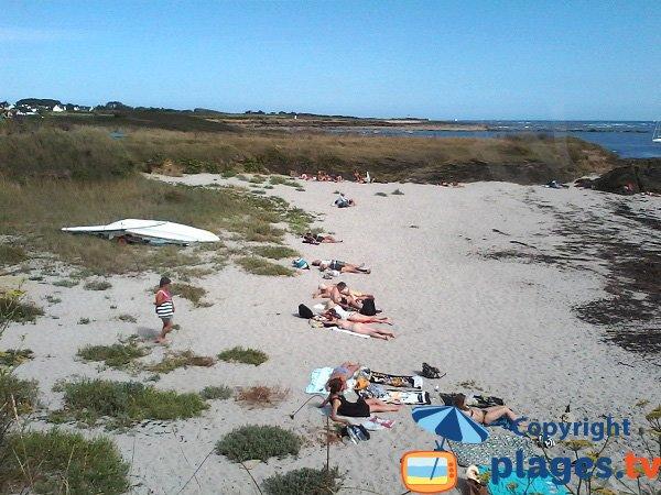 Porh Roëd beach - Island of Groix - Brittany