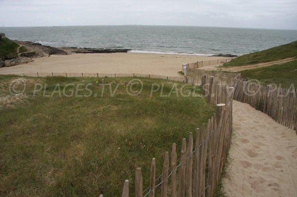 Photo of main beach of Pors er Ster - Piriac