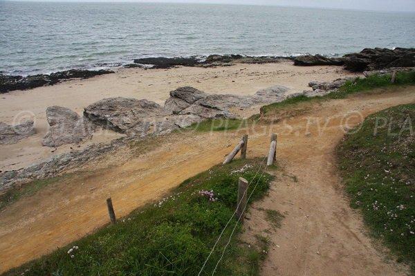 Access to Pors er Ster beach - Piriac