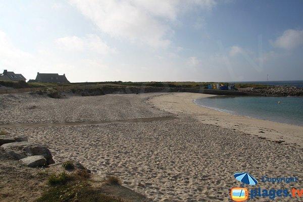 Plage au port de l'ile Grande - Pleumeur Bodou