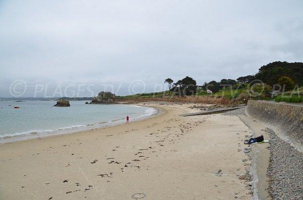 Photo de la plage de Pors Hir à Plougrescant