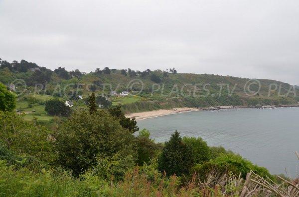 Photo de la plage de Pors Mabo à Trébeurden