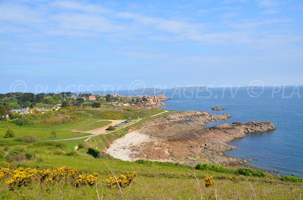 Ploumanach and coastal footpath - Brittany - France