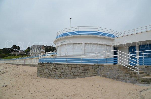 Poste de secours de la plage de Pors Termen