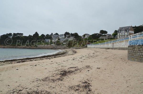 Photo de la plage de Pors Termen à Trébeurden