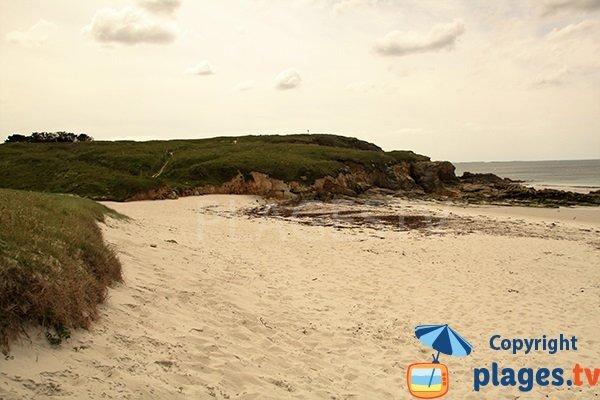 Dune de la plage de Pors Tevigné - Plouarzel