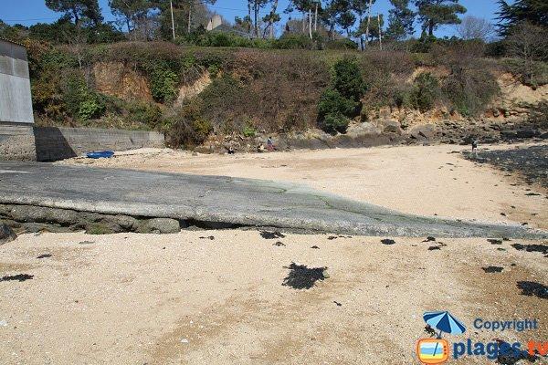 Wedge on the beach of Pors Trez