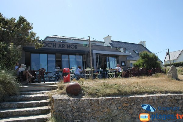 Restaurant sur la plage de Plouescat - Porsgwen