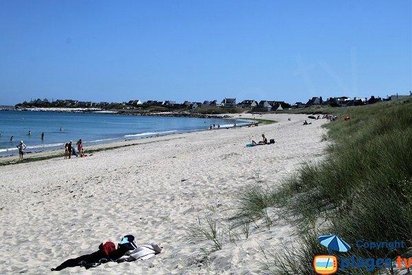 Photo de la plage de Porsmeur à Plouescat