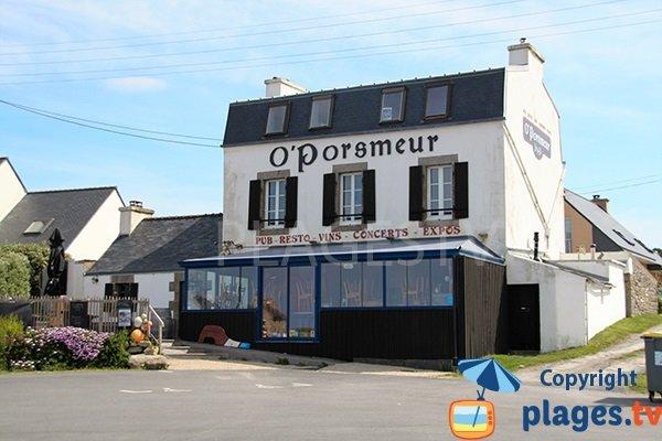 Pub à côté de la plage de Porsmeur - Porspoder