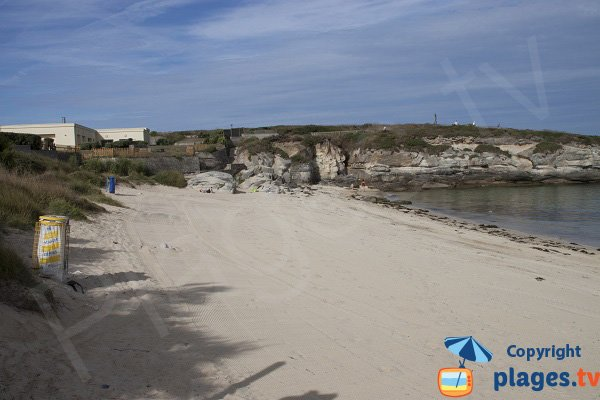 Plage de sable à Kerroc'h - Ploemeur