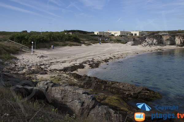 Photo of Port-Blanc beach in Ploemeur - Kerroc'h