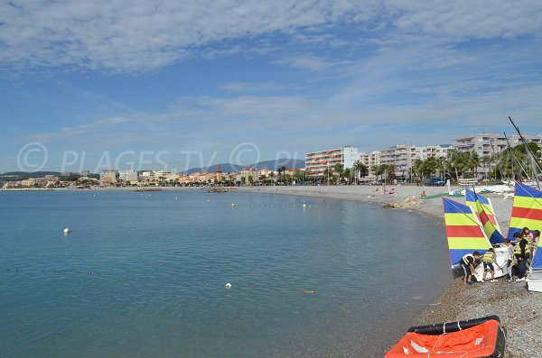 Sailing scool in Cagnes sur Mer