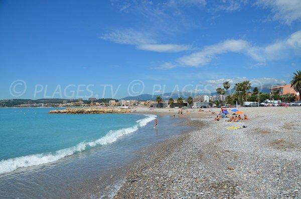 Photo of harbor beach in Cagnes sur Mer