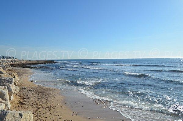 Spiaggia porto di Carro - Martigues - La Couronne