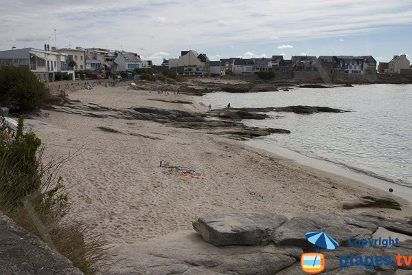 Photo of Port Fontaine beach in Ploemeur - Brittany