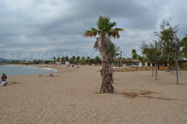Strand Port Fréjus mit Privatstrand