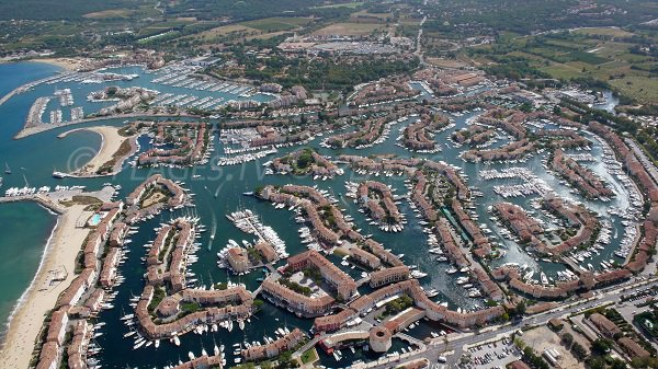 Port Grimaud beaches in France
