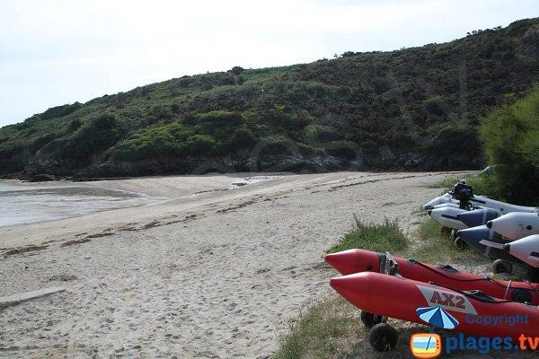 Photo de la plage de Port Guen - Le Palais - Belle Ile