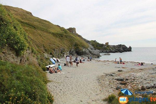 Porh Gween beach in Belle Ile - Bangor