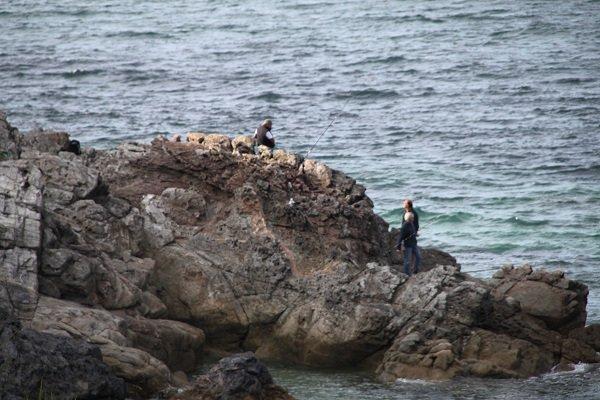Fishing in Belle Ile - Port Huelen