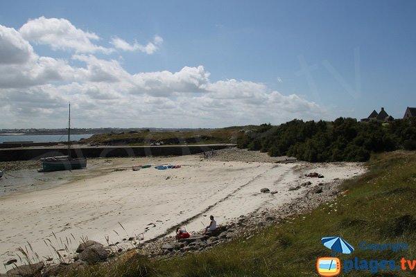 Port cove of Sieck island - Santec