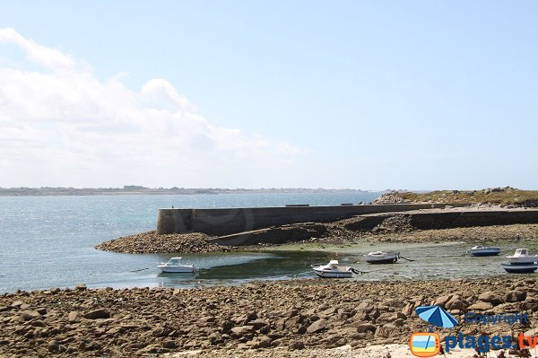 Port of Sieck island - Brittany