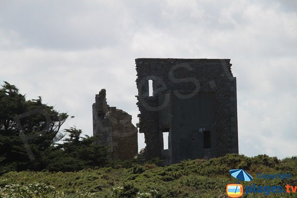 Ruins on the island of Sieck
