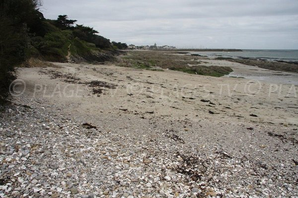 View on Piriac port from Port Kennet beach - France