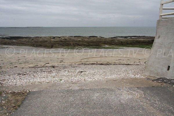 Access to Port Kennet beach - Piriac sur Mer