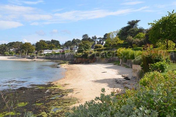 Port beach in La Trinité sur Mer in Brittany