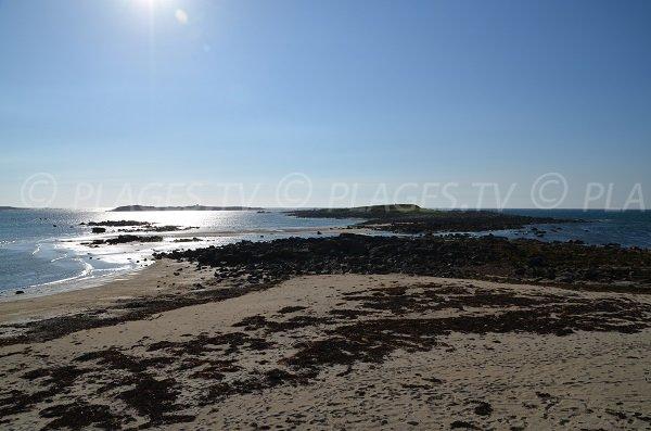 Baie de Keryvon à Port Landrellec