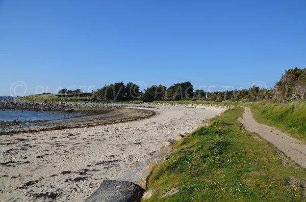 Photo de la plage du Port de Landrellec à Pleumeur Bodou