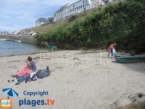 Port-Lay in Groix island