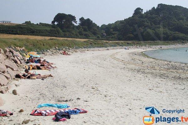 Photo de la plage de Port le Goff