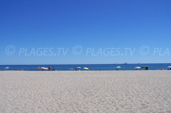 Photo of Port Leucate beach in summer