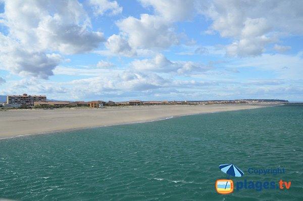Photo de la plage de Port Leucate