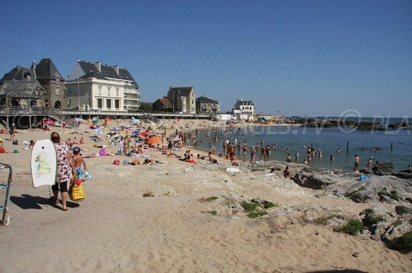 Sand beach of Port Lin - Le Croisic