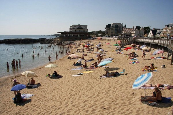 Foto della spiaggia di Port Lin a Le Croisic