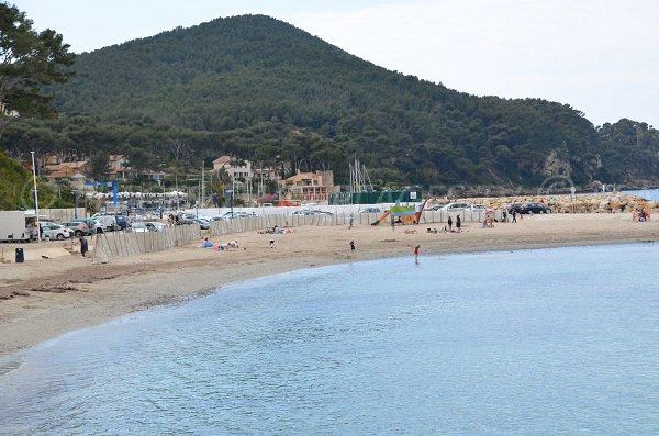 Madrague beach in saint cyr sur mer var france - Office tourisme st cyr sur mer ...