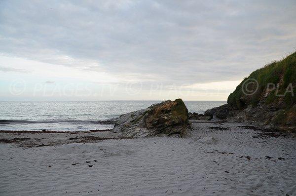 Rochers sur la plage de Port Maria