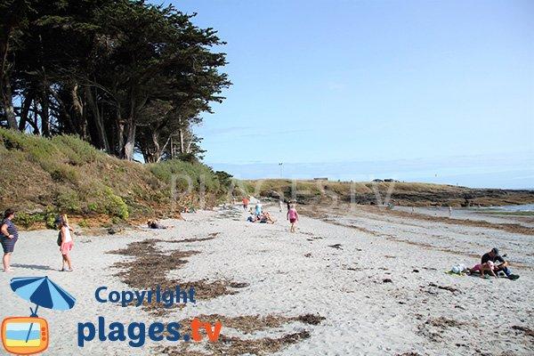 Port Maria plage à Saint Gildas de Rhuys