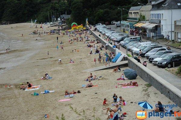 Photo de la plage de Port Mer à Cancale