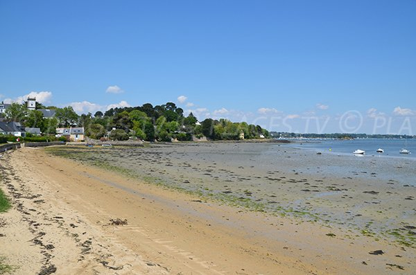Photo de la plage de Port Miquel de l'Ile aux Moines