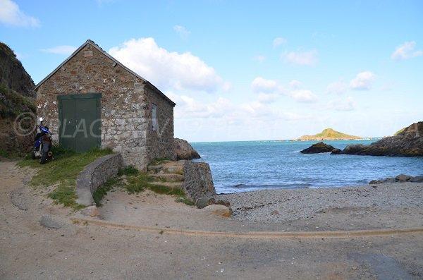 Plage de Port Moguer à Plouha - Bretagne