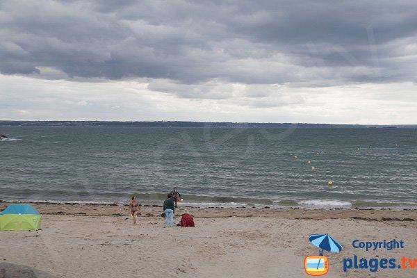 Plage de sable à Planguenoual - Port Morvan