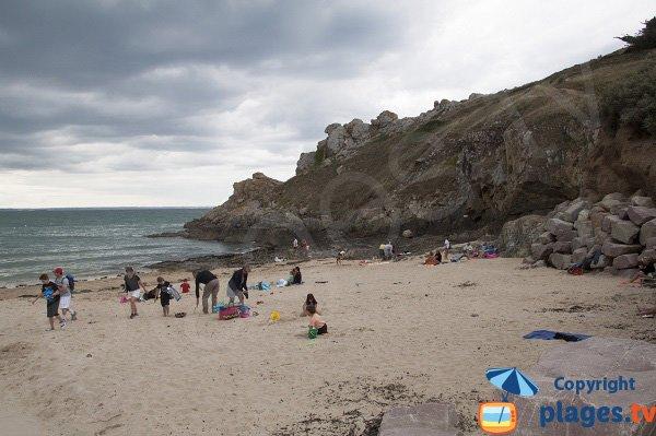 Photo de la plage de Port Morvan à Planguenoual